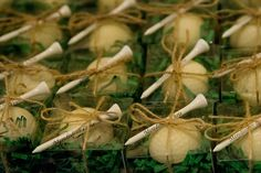 golf ball wedding favors....we are getting married on a golf course