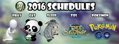 I can't wait for 2016. My schedules at 2016,Join me and Subscribes : http://www.youtube.com/c/JaimGamesMMORPG … #pokemon #treeofsavior
