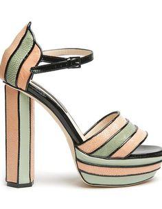 Chrissie Morris Yazmin Multi-Stripe Sandal - love love love!