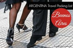 For this Argentina Travel Packing List learn what to wear in Buenos Aires from two locals that have stylish travel fashion tips for you! Learn how to pack a 10 piece capsule travel wardrobe for Argentina's capital year-round!