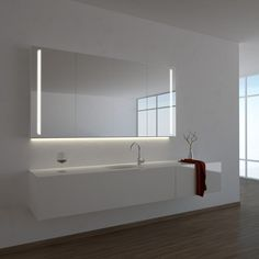 Spiegelschrank Ogrel mit LED Beleuchtung | Badezimmer | Pinterest ...