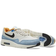huge discount d4bd1 93120 Nike Air Max 1 Ultra Essential (Light Bone   Hyper Cobalt) Kicks, Air
