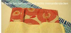 Easy Peasy Tasche - stoffART Bio- und Designerstoffe Valance Curtains, Easy, Home Decor, Sew Tote Bags, Jean Bag, Beaded Jewelry, Sachets, Handbags, Diy
