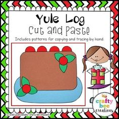 Yule Log Cut and Pas