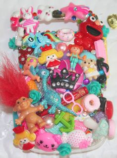 deco-den phone case & reliving my childhood | Diapers and Mascara
