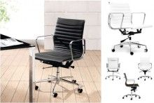 Eames style Office chair in black or white only $199.99