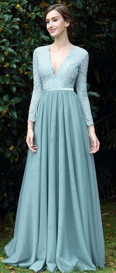eDressit Light Green Lace Evening Dress