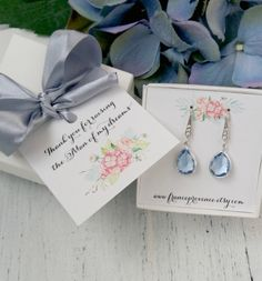Mother Of The Groom Gift Gift Boxed Jewelry Mother of The Groom jewelry Mother of The Groom Earrings Thank You Gift Gift boxed jewelry by FranceProvence #TrendingEtsy