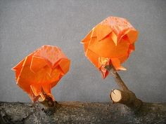 Magali Owls by Magic Fingaz por Chouett'origami em Flickr