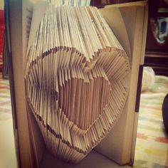He made this for me :) #gift #DIY #anniversary #love #book