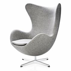 The Arne Jacobsen Egg chair was originally commissioned as part of the decor for the Radisson Blu Royal Copenhagen hotel in 1958.