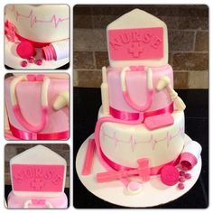 #Nurse #Pink #Cake