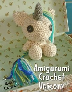 Cute Little Amigurumi Crochet Unicorn