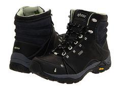 Ahnu Montara Boot l Zappos Black Hiking Boots, Best Hiking Boots, Hiking Boots Women, Hiking Gear, Hiking Shoes, Black Boots, Hiking Outfits, Sport Outfits, Snow Boots