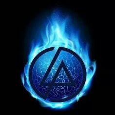 Linkin Park logo  all seeing eye on USA $1 bill?  also change a bit its los angeles sign acronym letter LA