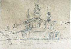 рисунок на крафте