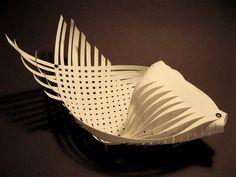 Leslie Benson - paper weaving