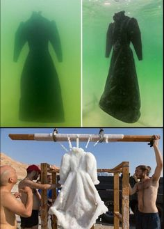 An artist left a dress in the Dead Sea for two years - Humor Photo - Humor images - An artist left a dress in the Dead Sea for two years The post An artist left a dress in the Dead Sea for two years appeared first on Gag Dad. Funny Memes, Hilarious, Wtf Fun Facts, Zuko, Looks Cool, Amazing Art, Awesome, Mind Blown, Funny Pictures