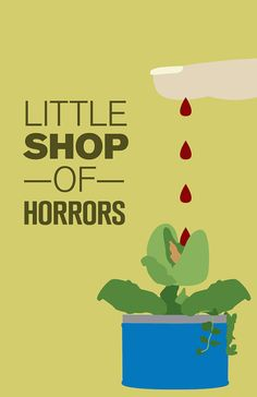 Little Shop of Horrors 11x17 Movie Poster by brandonwithglasses, $ 30.00