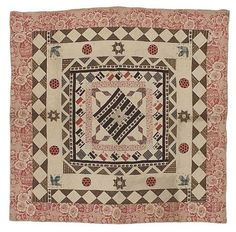 Pieced quilt American, mid-19th century   Museum of Fine Arts, Boston
