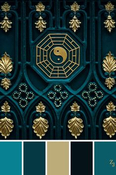 Style 387661480418593554 - ZJ Colour Palette 332 Source by FiRobGraphics Color Palette For Home, Color Schemes Colour Palettes, Colour Pallette, Color Palette Green, Modern Color Schemes, Gold Colour, Color Blue, Design Seeds, Color Balance