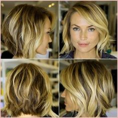 Hottest Bob Haircuts for Fine Hair, Long and Short Bob Hairstyles Cute Short Haircuts For Women Medium Hair Styles, Short Hair Styles, Hair Medium, Medium Long, Bob Styles, 40 Year Old Hair Styles, Medium Curls, Medium Brown, Medium Length Hair With Layers
