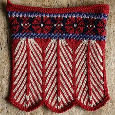 Feathers by knitlab, via  for scarf edges