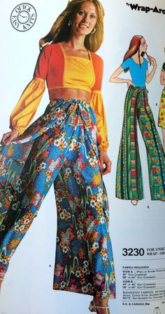 McCall's Summer '72 catalog page. #vintagesewing