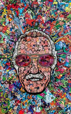 Stan Lee Canvas Paintings Father Of Marvel Framed HD Canvas Prints Pop Art Poster Wall Art Decoration Super Hero Collection Batman Spiderman Iron Man Comics Wall Decor for Home Office Marvel Avengers, Marvel Comics, Films Marvel, Marvel Memes, Marvel Characters, Spiderman Marvel, Collage Poster, Kunst Poster, Poster Wall