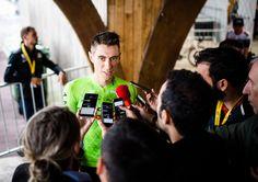 Licencié à l'UC Gien Sport, l'Orléanais Pierre ROLLAND (29 ans) a, sur 8 participations, déjà terminé à 4 reprises dans les 12 premiers du Tour de France à Paris (10 en 2011, 8 en 2012, 11 en 2014 et 10 en 2015).? - PHOTO afp ------------------------------ Jour...