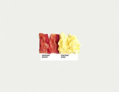 BaconEggs Cibo pantone - Il Post