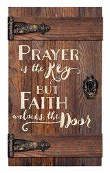 Prayer Is the Key But Faith Unlocks the Door Door Art DIY Wood Signs Art Door Faith key Prayer Unlocks Diy Wood Projects, Wood Crafts, Diy And Crafts, Wood Projects That Sell, Old Key Crafts, Palet Projects, Old Door Projects, Diy Projects With Old Windows, Clay Crafts