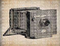 Antique Camera Photography  Illustration by AntiqueGraphique, $1.00