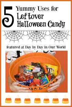 Planning to have an abundance of leftover Halloween candy? Or maybe stock up after the holiday? Here are some yummy ways to use it up.