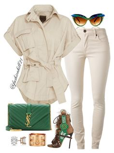 A fashion look from December 2015 featuring cotton military jacket, burberry skinny jeans and green high heel shoes. Browse and shop related looks. Diva Fashion, I Love Fashion, Autumn Fashion, Fashion Looks, Womens Fashion, Looks Style, Casual Looks, My Style, Stylish Outfits