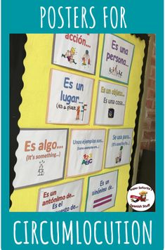 Helping kids stay in the TL with circumlocution Spanish Teaching Resources, Spanish Activities, Spanish Language Learning, Help Teaching, Teaching Ideas, Spanish Games, Listening Activities, Class Activities, Teacher Resources