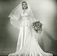 30's wedding dress