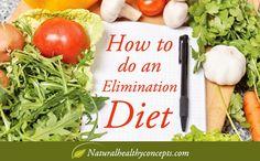 Elimination diet benefits, recipes & tips
