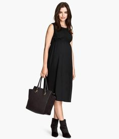 MAMA Sleeveless Dress http://picvpic.com/women-dresses/mama-sleeveless-dress#Black