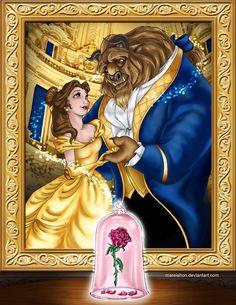 .Beauty and the Beast. by Mareishon on deviantART | Beauty and the Beast | Walt Disney Animation Studios