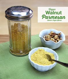 ********Vegan Walnut Parmesan