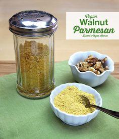 Vegan Walnut Parmesan >> Dianne's Vegan Kitchen