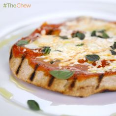 Daphne Oz's Grilled Pizza on Pita Bread! #TheChew