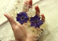 Pressed flower iphone caseiphone 6 case by KALEPRESSEDFLOWER