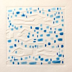 Blind Embossing, Linocut Prints, Blinds, Watercolor, Fine Art, Artist, Crafts, Printing, Pen And Wash