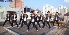 """Neoz School Trainees Perform Choreography for AOA's """"Heart Attack"""" Lee Jae Yoon, Lee Sung, Click Your Heart, Neoz School, Kang Chan Hee, Young Kim, Web Drama, Sf 9, All About Kpop"""