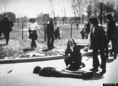 Why? Troops from the Ohio National Guard killed four students and injured nine when they opened fire on a crowd of protesters at Kent State University in Kent, Ohio. May 4th 1970,may we NEVER forget