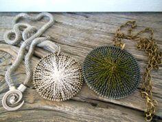 Zipper necklaces / vetoketjukaulakorut /ArjaS