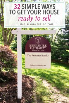 Such great tips and tricks for selling a house! And you don't have to spend a fortune to get your house ready for open houses or showings! Click through to read more!