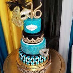 Masquerade sweet 16  #carinaedolce www.carinaedolce.com www.facebook.com/carinaedolce Masquerade, Sweet 16, Facebook, Children, Cake, Pie Cake, Boys, Sweet Sixteen, Kids